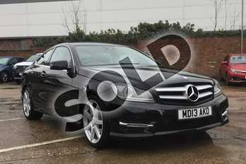 Mercedes-Benz C Class Diesel C220 CDI BlueEFFICIENCY AMG Sport 2dr Auto in Metallic - Magnetite black at Listers Toyota Boston