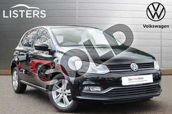 Volkswagen Polo 1.0 75 Match 5dr in Flat Black at Listers Volkswagen Coventry