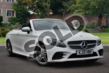 Mercedes-Benz C Class Diesel C300d AMG Line Premium 2dr 9G-Tronic in Polar White at Mercedes-Benz of Lincoln