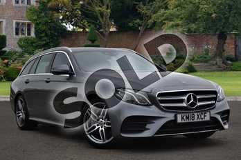 Mercedes-Benz E Class E220d AMG Line 5dr 9G-Tronic in selenite grey metallic at Mercedes-Benz of Lincoln
