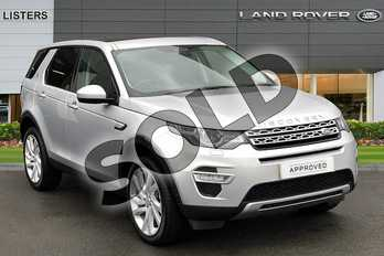 Land Rover Discovery Sport Diesel SW 2.0 TD4 180 HSE Luxury 5dr Auto in Indus Silver at Listers Land Rover Hereford