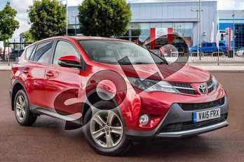 Toyota RAV4 2.0 D-4D Business Edition 5dr 2WD in Red at Listers Toyota Cheltenham