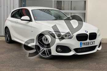 BMW 1 Series Special Edition 120d M Sport Shadow Ed 3dr Step Auto in Alpine White at Listers King's Lynn (BMW)