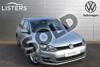 Volkswagen Golf 2.0 TDI Match 5dr in Reflex silver at Listers Volkswagen Loughborough