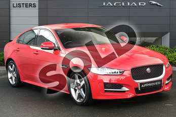 Jaguar XE 2.0 Ingenium R-Sport 4dr Auto in Caldera Red at Listers Jaguar Droitwich