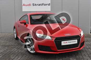 Audi TT 2.0T FSI Sport 2dr in Tango Red Metallic at Stratford Audi