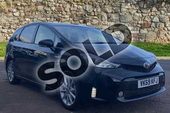 Toyota Prius+ 1.8 VVTi Excel TSS 5dr CVT Auto in Black at Listers Toyota Stratford-upon-Avon