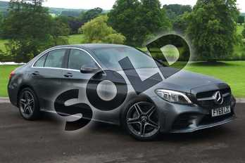 Mercedes-Benz C Class C220d AMG Line Premium 4dr 9G-Tronic in selenite grey metallic at Mercedes-Benz of Grimsby