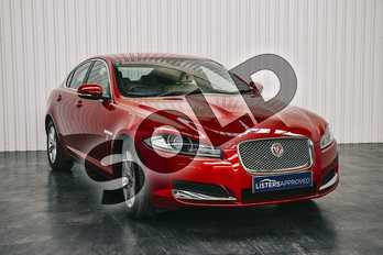 Jaguar XF Diesel 3.0d V6 Luxury 4dr Auto (Start Stop) in Italian Racing Red at Listers Jaguar Solihull