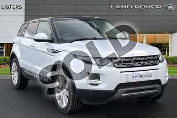 Range Rover Evoque 2.2 SD4 Pure 5dr (Tech Pack) in Yulong White at Listers Land Rover Hereford
