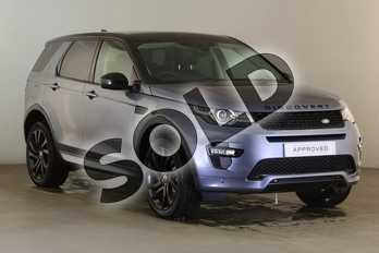 Land Rover Discovery Sport Diesel SW 2.0 SD4 240 HSE Dynamic Luxury 5dr Auto in Byron Blue at Listers Land Rover Hereford