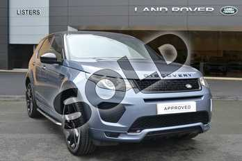 Land Rover Discovery Sport SW 2.0 Si4 290 HSE Dynamic Luxury 5dr Auto in Byron Blue at Listers Land Rover Hereford