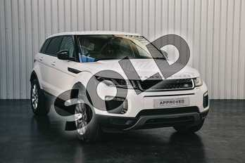 Range Rover Evoque 2.0 TD4 SE Tech 5dr in Fuji White at Listers Land Rover Solihull