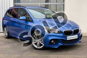 BMW 2 Series 216d M Sport 5dr in Estoril Blue at Listers King's Lynn (BMW)
