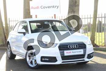 Audi A1 1.4 TFSI Sport 3dr in Shell White at Coventry Audi