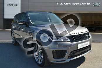 Range Rover Sport 2.0 P400e Autobiography Dynamic 5dr Auto in Corris Grey at Listers Land Rover Hereford