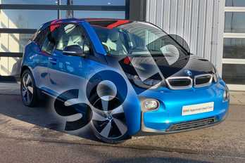 BMW I3 125kW Range Extender 33kWh 5dr Auto in Protonic Blue / Frozen Grey accent at Listers King's Lynn (BMW)