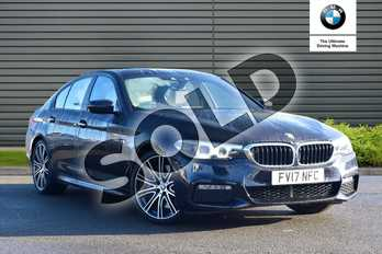 BMW 5 Series 540i xDrive M Sport 4dr Auto in Carbon Black at Listers Boston (BMW)
