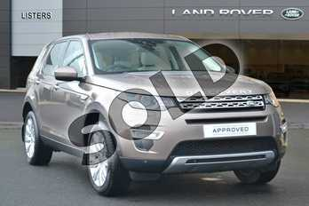 Land Rover Discovery Sport Diesel SW 2.2 SD4 HSE Luxury 5dr Auto in Kaikoura Stone at Listers Land Rover Hereford