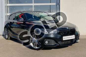 BMW 1 Series 125d M Sport 3-Door in Black Sapphire metallic paint at Listers King's Lynn (BMW)
