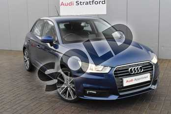 Audi A1 1.4 TFSI Sport 5dr in Scuba Blue Metallic at Stratford Audi