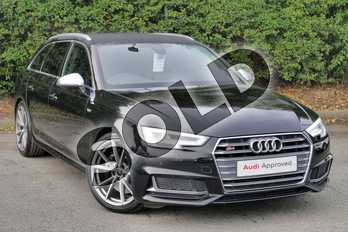 Audi A4 S4 Quattro 5dr Tip Tronic in Myth Black Metallic at Worcester Audi