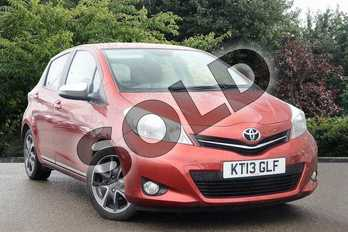 Toyota Yaris 1.33 VVT-i Trend 5dr in Red at Listers Toyota Nuneaton
