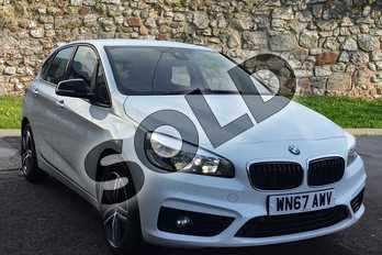 BMW 2 Series 218i Sport 5dr Step Auto in White at Listers Toyota Stratford-upon-Avon