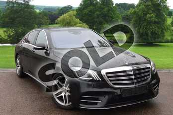 Mercedes-Benz S Class S500L AMG Line Executive/Prem Plus 4dr 9G-Tronic in Obsidian Black metallic at Mercedes-Benz of Grimsby