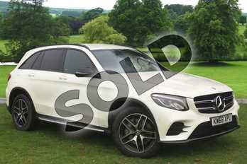 Mercedes-Benz GLC GLC 250d 4Matic AMG Line 5dr 9G-Tronic in designo diamond white bright at Mercedes-Benz of Grimsby
