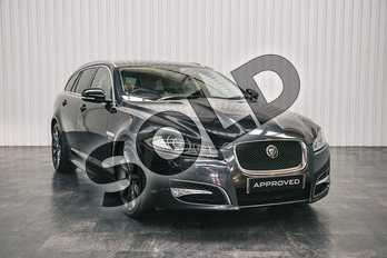 Jaguar XF 3.0d V6 S Portfolio 5dr Auto in Stratus Grey at Listers Jaguar Solihull