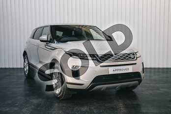 Range Rover Evoque 2.0 P200 S 5dr Auto in Seoul Pearl Silver at Listers Land Rover Solihull