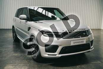Range Rover Sport 3.0 SDV6 HSE Dynamic 5dr Auto in Indus Silver at Listers Land Rover Solihull