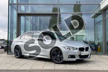 BMW 3 Series 330d xDrive M Sport 4dr Step Auto in Glacier Silver at Listers King's Lynn (BMW)