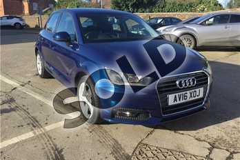 Audi A1 1.6 TDI Sport 5dr in Metallic - Scuba blue at Listers Toyota Boston