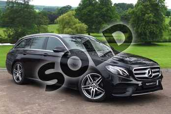 Mercedes-Benz E Class E220d AMG Line 5dr 9G-Tronic in obsidian black metallic at Mercedes-Benz of Grimsby