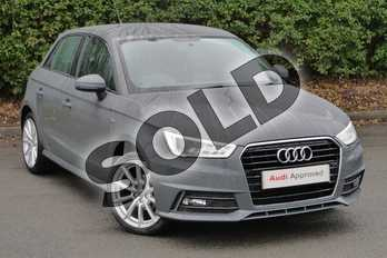Audi A1 1.0 TFSI S Line Nav 5dr in Nano Grey Metallic at Worcester Audi