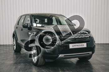 Land Rover Discovery Sport 2.0 TD4 180 HSE 5dr Auto in Santorini Black at Listers Land Rover Solihull