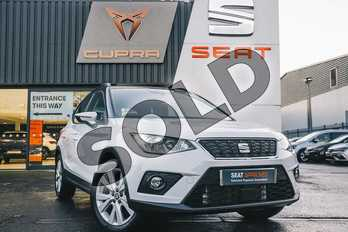 SEAT Arona 1.0 TSI 115 SE Technology (EZ) 5dr DSG in Nevada White at Listers SEAT Coventry