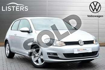 Volkswagen Golf 1.4 TSI 125 Match Edition 3dr in Reflex silver at Listers Volkswagen Coventry