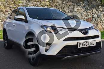 Toyota RAV4 2.0 D-4D Business Edition TSS 5dr 2WD in White at Listers Toyota Boston