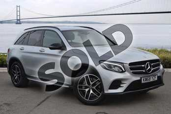 Mercedes-Benz GLC GLC 250d 4Matic AMG Line 5dr 9G-Tronic in Iridium Silver Metallic at Mercedes-Benz of Hull