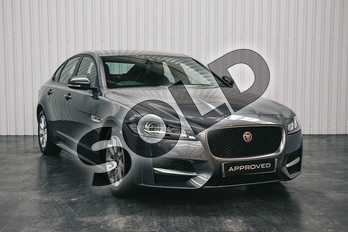 Jaguar XF 2.0d R-Sport 4dr Auto in Corris Grey at Listers Jaguar Solihull