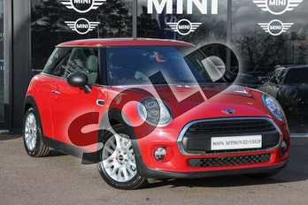 MINI Hatchback 1.2 One 3dr in Blazing Red at Listers Boston (MINI)