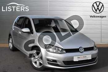 Volkswagen Golf 1.6 TDI 110 Match Edition 5dr in Reflex silver at Listers Volkswagen Evesham