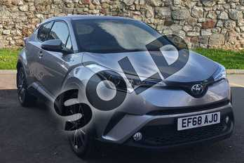 Toyota C-HR 1.8 Hybrid Excel 5dr CVT (Leather) in Silver at Listers Toyota Stratford-upon-Avon