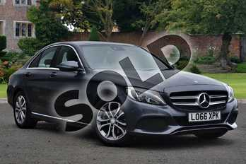 Mercedes-Benz C Class C220d Sport 4dr in Tenorite Grey Metallic at Mercedes-Benz of Lincoln
