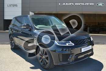 Range Rover Sport 2.0 P400e Autobiography Dynamic 5dr Auto in Santorini Black at Listers Land Rover Hereford