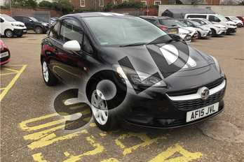 Vauxhall Corsa 1.4 (75) ecoFLEX Sting 3dr in Metallic - Mineral black at Listers Toyota Boston