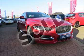 Jaguar XE 2.0 (240) R-Sport 4dr Auto in Metallic - Odyssey red at Listers Toyota Grantham